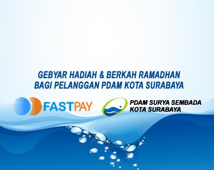 Gebyar Hadiah FASTPAY bagi Pelanggan PDAM Kota Surabaya